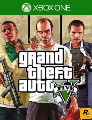 GTA 5 Xbox One Mídia Digital