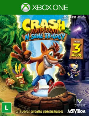 Crash Bandicoot N. Sane Trilogy Xbox One Mídia Digital
