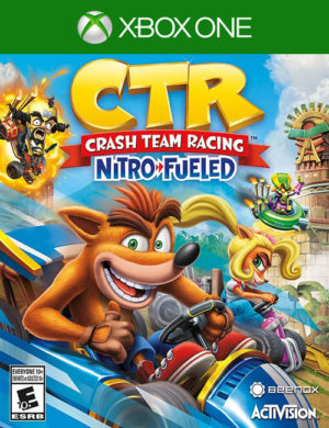 Crash Team Racing Nitro-Fueled Xbox One Mídia Digital