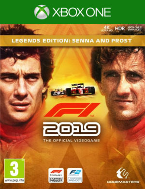 F1 2019 Ledends Edition Xbox One Mídia Digital