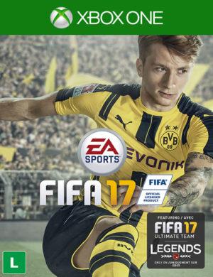 Fifa 17 Xbox One Mídia Digital