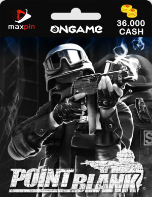 Point Blank 36000 Cash – Código Digital