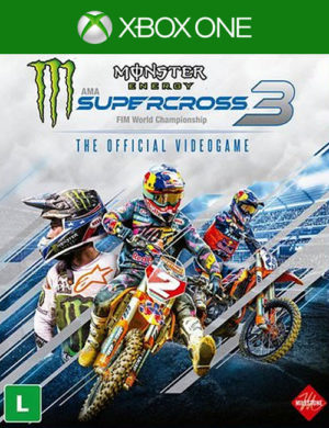 Monster Energy Supercross Xbox One Midia Digital
