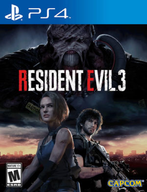 Resident Evil 3 Remake PS4 Mídia Digital