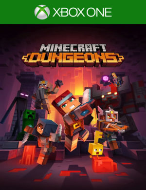 Minecraft Dungeons Xbox One Mídia Digital