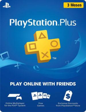 Cartão Playstation Plus 3 Meses Brasil – Digital