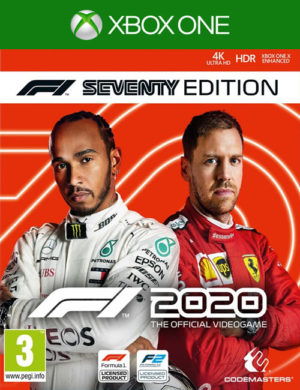 F1 2020 Seventy Edition Xbox One Mídia Digital