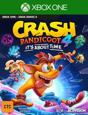 Crash Bandicoot 4: It's About Time Xbox One Mídia Digital