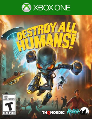 Destroy All Humans! Xbox One Mídia Digital