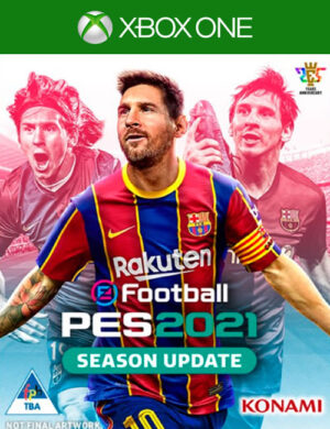 PES 2021 Season Update Xbox One Mídia Digital