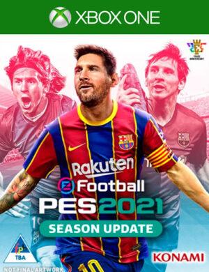 PES 2021 Season Update Xbox One Mídia Digital