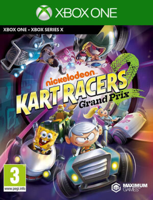 Nickelodeon Kart Racers Xbox One Mídia Digital