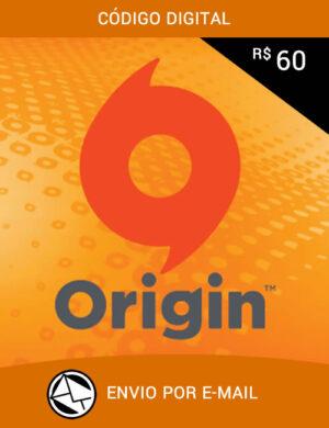 Cartão Origin R$ 60 Reais