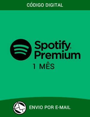 Spotify Premium – Cartão 1 Mes Assinatura