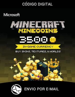 Minecraft Minecoins 3500 Coins