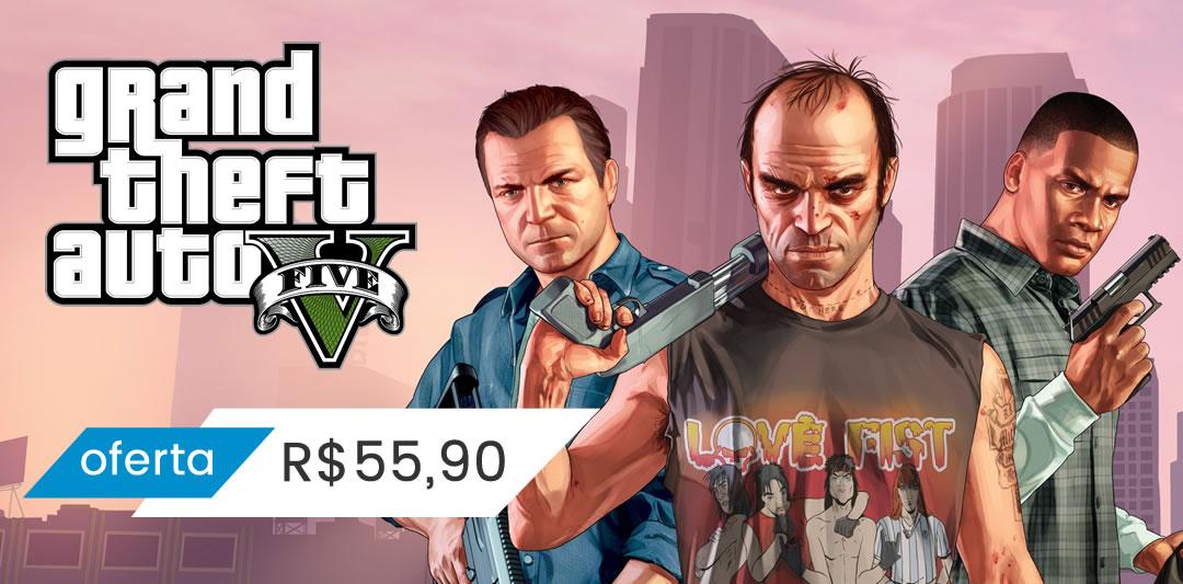 GTA 5 Xbox One Mídia Digital