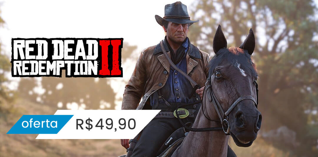 Red Dead 2 Xbox One Mídia Digial
