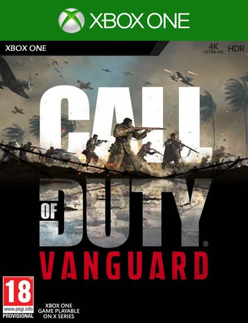 Call of Duty Vanguard Xbox One Mídia Digital