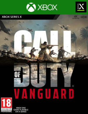 Call of Duty Vanguard Xbox Series X/S Mídia Digital