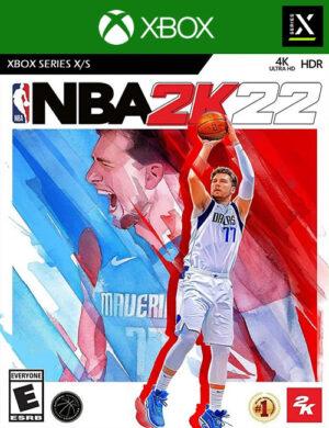 NBA 2k22 Xbox Series X/S Mídia Digital
